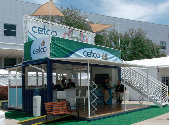 custom shipping container for cetco