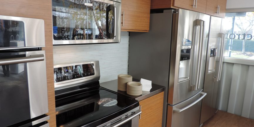 electrolux mobile kitchen and showroom kitchen appliance