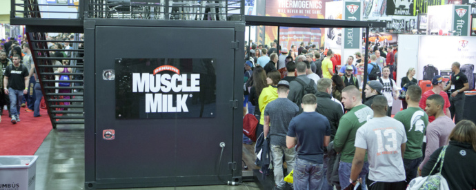 Muscle Milk Trade Show