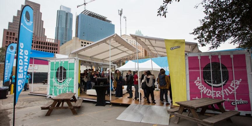 SXSW Shipping Container