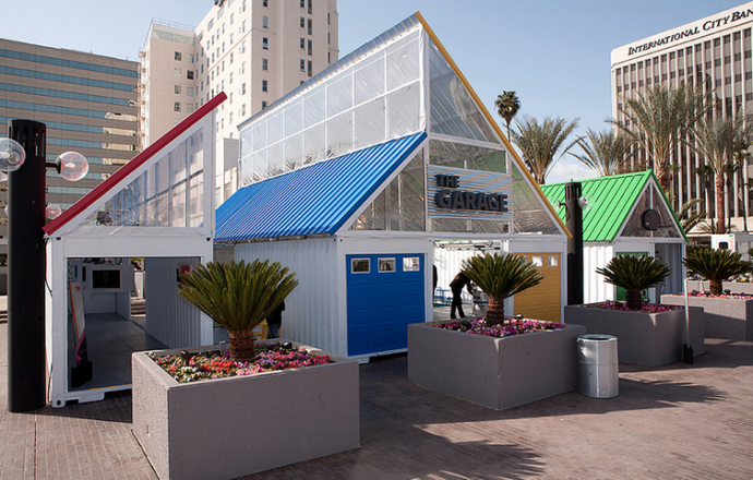 Google shipping container event