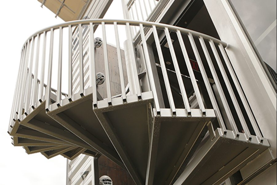 Shipping Container Stairs