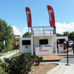 Chick-fil-A Shipping Container Marketing