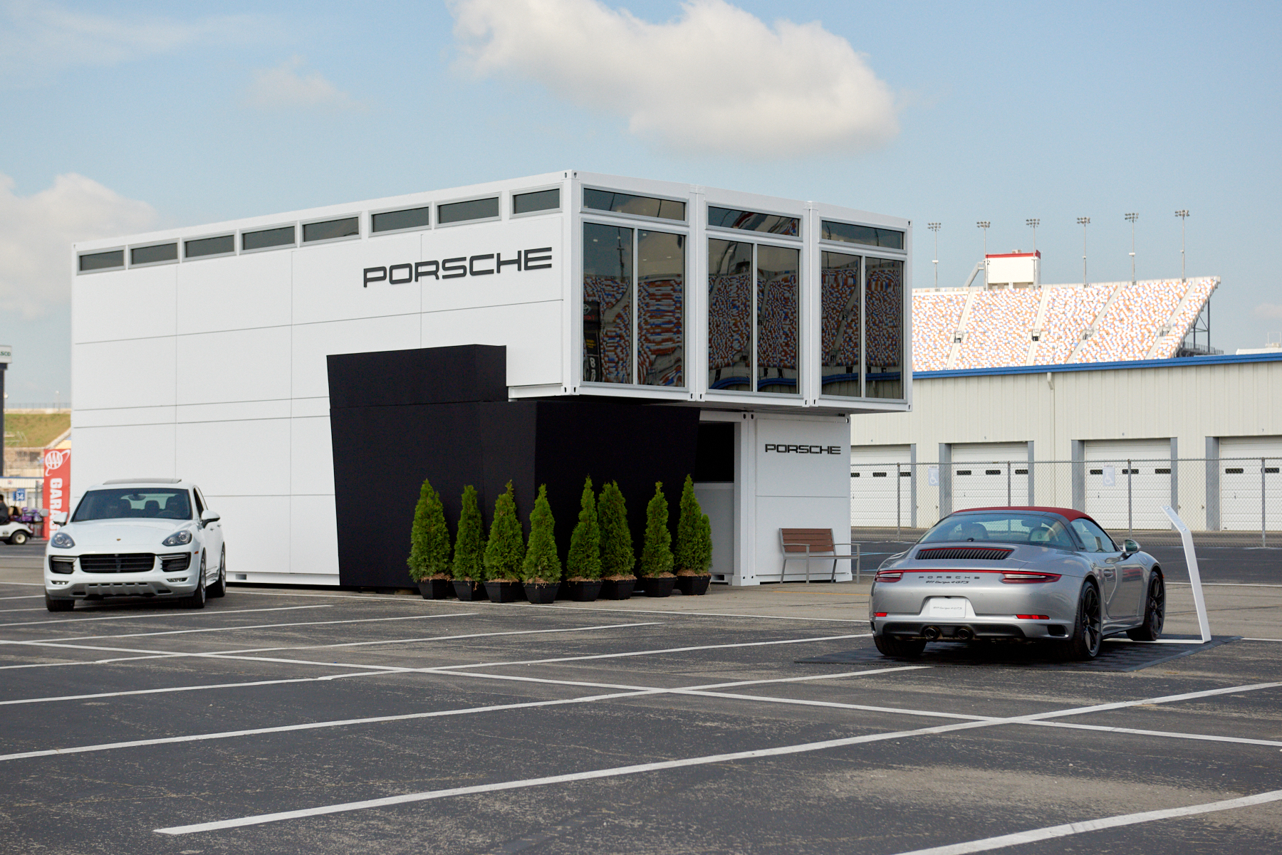 Porsche Shipping Containers