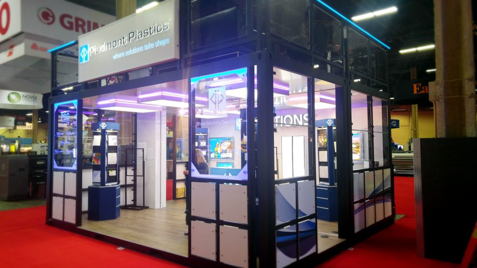 Shipping Container Tradeshow Booths