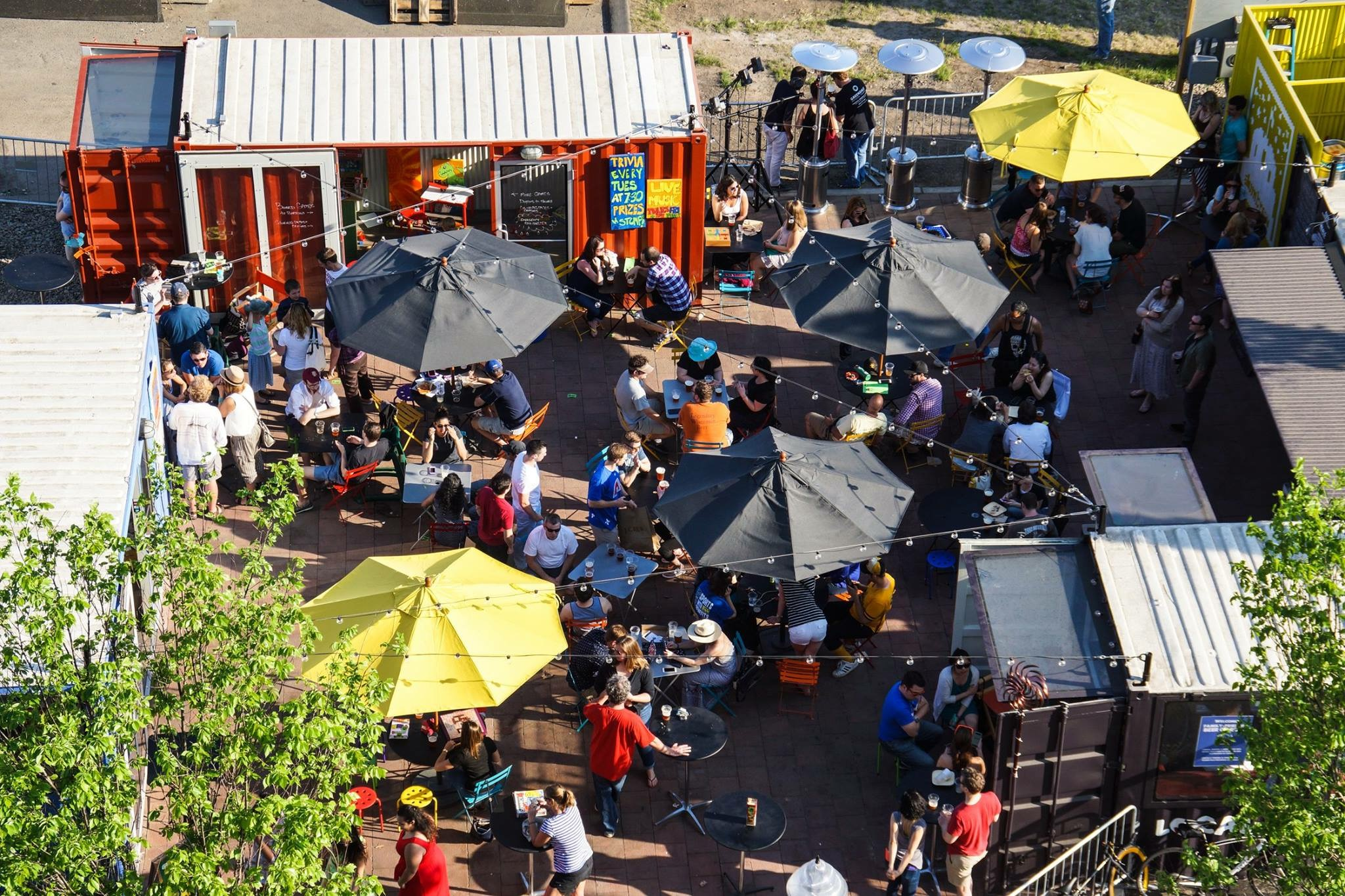 Experiential Marketing with Shipping Containers
