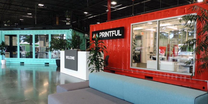 Printful Container Offices