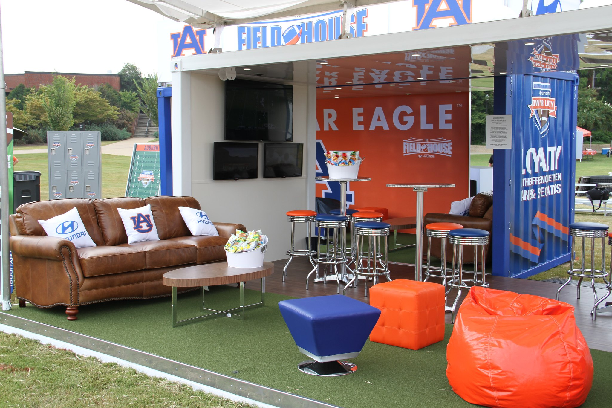 Event Marketing Shipping Containers