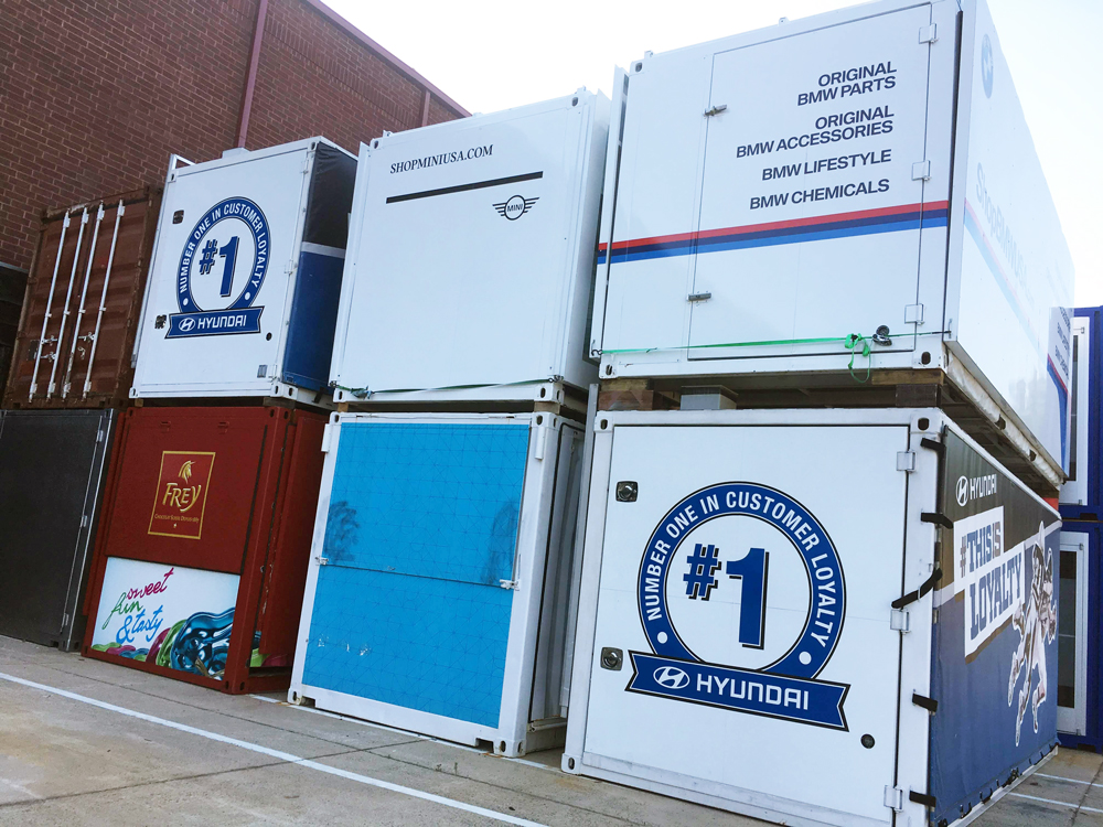 Event Marketing Containers