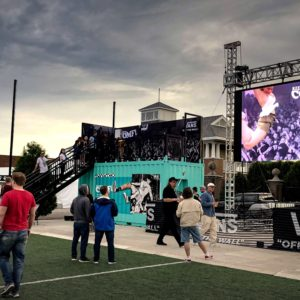 Vans Shipping Container Stage Dive