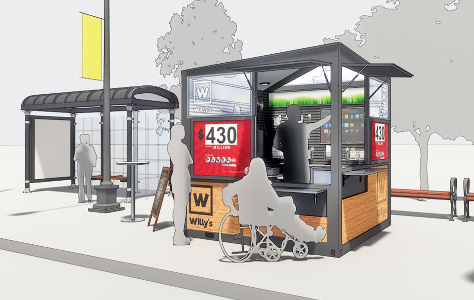 Shipping Container Pop up