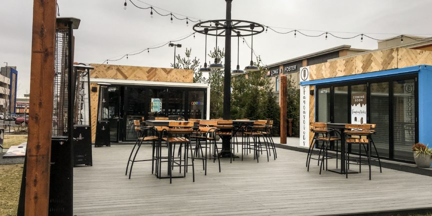 Pop Up Shop Shipping Containers